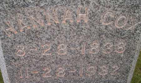 COX, HANNAH ISABELL - Harrison County, Iowa | HANNAH ISABELL COX