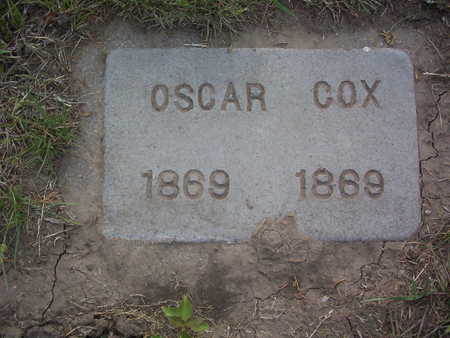 COX, OSCAR - Harrison County, Iowa | OSCAR COX