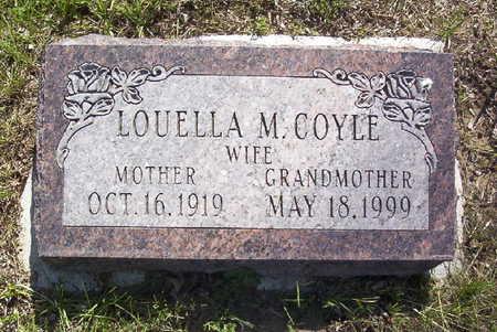 BONHAM COYLE, LOUELLA M. - Harrison County, Iowa | LOUELLA M. BONHAM COYLE