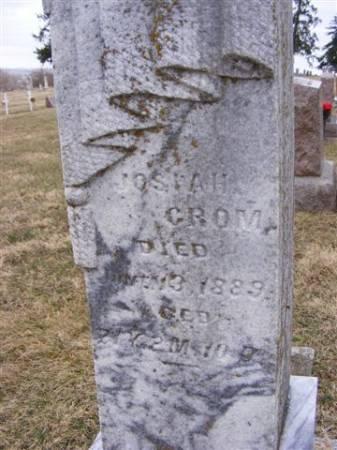 CROM, JOSIAH - Harrison County, Iowa | JOSIAH CROM