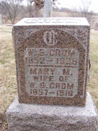 CROM, WALTER SCOTT - Harrison County, Iowa   WALTER SCOTT CROM