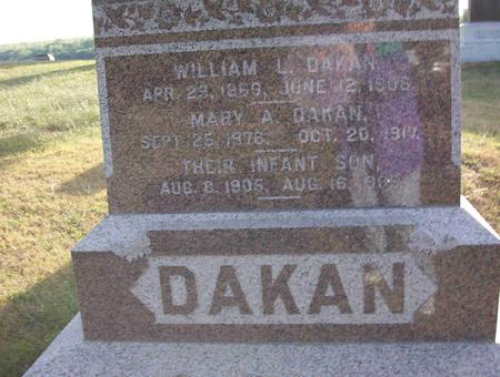 DAKAN, INFANT SON - Harrison County, Iowa | INFANT SON DAKAN