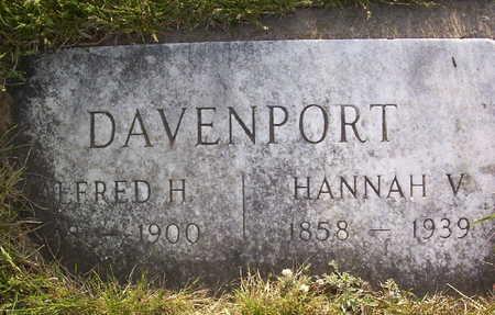 DAVENPORT, HANNAH V. - Harrison County, Iowa | HANNAH V. DAVENPORT
