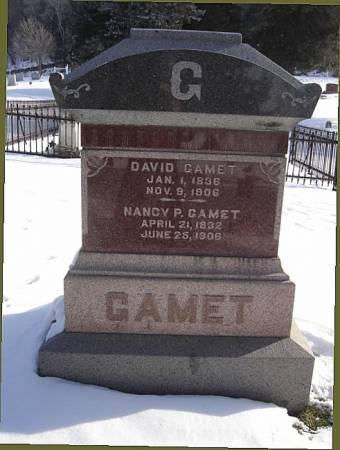 NANCY P., GAMET - Harrison County, Iowa   GAMET NANCY P.