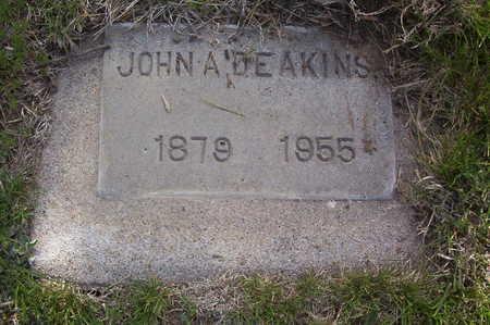 DEAKINS, JOHN AMOSA - Harrison County, Iowa | JOHN AMOSA DEAKINS