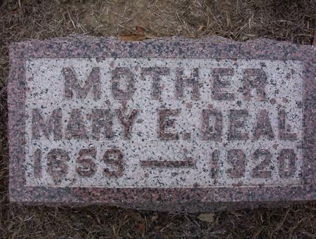 DEAL, MARY E - Harrison County, Iowa | MARY E DEAL