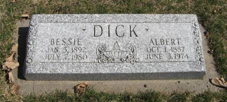 DICK, BESSIE - Harrison County, Iowa | BESSIE DICK