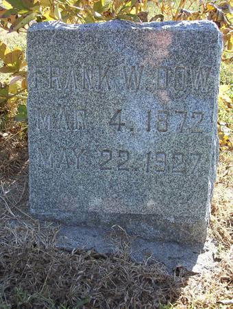 DOW, FRANK WELLS, JR. - Harrison County, Iowa | FRANK WELLS, JR. DOW