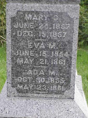 EVANS, ADA M - Harrison County, Iowa | ADA M EVANS