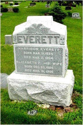 EVERETT, ELIZABETH W - Harrison County, Iowa | ELIZABETH W EVERETT