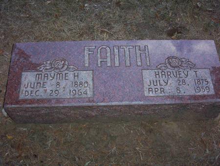 FAITH, MAYME E. - Harrison County, Iowa | MAYME E. FAITH