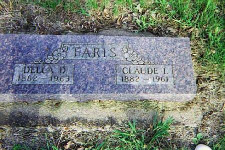 KRESS FARIS, CLAUDE AND DELLA - Harrison County, Iowa | CLAUDE AND DELLA KRESS FARIS