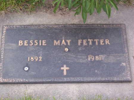 FETTER, BESSIE MAY - Harrison County, Iowa | BESSIE MAY FETTER