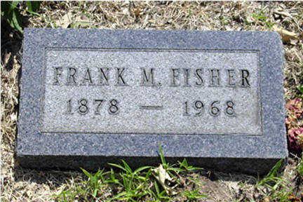 FISHER, FRANK M - Harrison County, Iowa   FRANK M FISHER