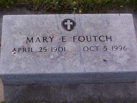 FOUTCH, MARY ELIZABETH - Harrison County, Iowa | MARY ELIZABETH FOUTCH