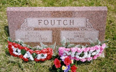 FOUTCH, FLOSSIE EVANGELINE - Harrison County, Iowa | FLOSSIE EVANGELINE FOUTCH