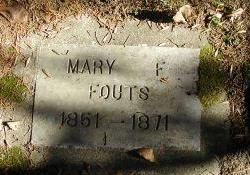 FOUTS, MARY - Harrison County, Iowa | MARY FOUTS