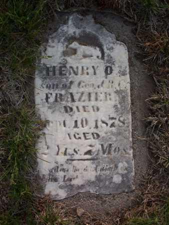 FRAZIER, HENRY O. - Harrison County, Iowa   HENRY O. FRAZIER