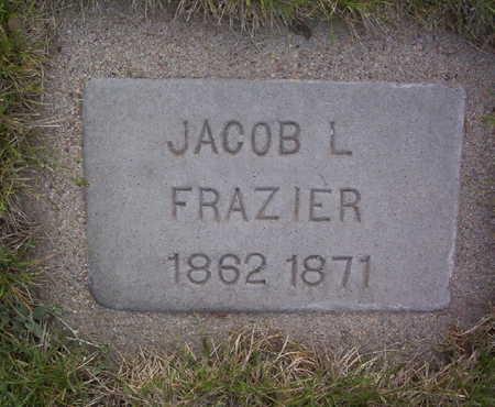 FRAZIER, JACOB EDWARD - Harrison County, Iowa | JACOB EDWARD FRAZIER