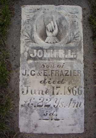FRAZIER, JOHN R. LENNOX - Harrison County, Iowa   JOHN R. LENNOX FRAZIER
