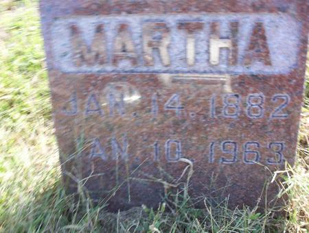 FRAZIER, MARTHA (MATTIE) - Harrison County, Iowa | MARTHA (MATTIE) FRAZIER