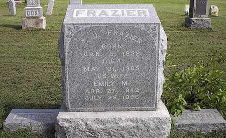 FRAZIER FRAZIER, EMILY MALINDA - Harrison County, Iowa | EMILY MALINDA FRAZIER FRAZIER