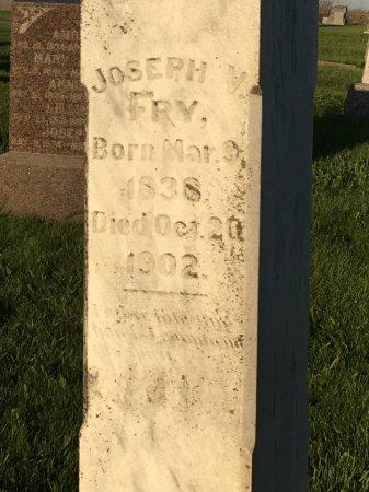 FRY, JOSEPH V - Harrison County, Iowa | JOSEPH V FRY