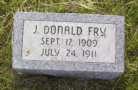FRY, J. DONALD - Harrison County, Iowa   J. DONALD FRY