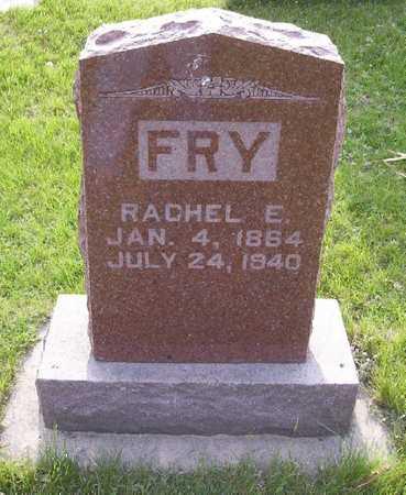 FRY, RACHEL E. - Harrison County, Iowa | RACHEL E. FRY