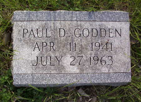 GODDEN, PAUL DEAN - Harrison County, Iowa | PAUL DEAN GODDEN