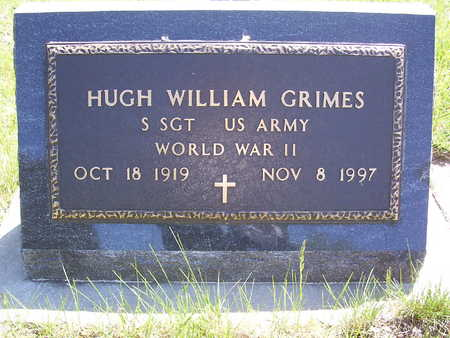 GRIMES, HUGH WILLIAM - Harrison County, Iowa | HUGH WILLIAM GRIMES