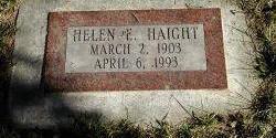 HAIGHT, HELEN - Harrison County, Iowa | HELEN HAIGHT