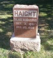 HAIGHT, SILAS AUGUSTUS - Harrison County, Iowa | SILAS AUGUSTUS HAIGHT