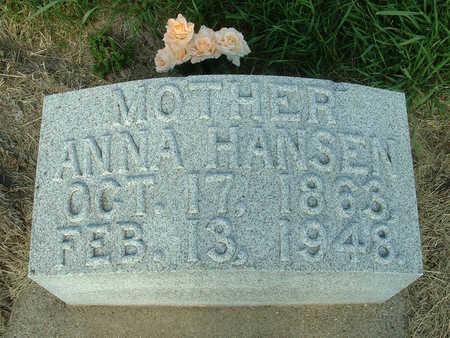 HANSEN, ANNA - Harrison County, Iowa | ANNA HANSEN