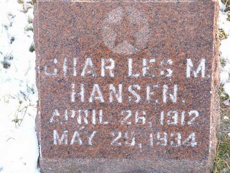 HANSEN, CHAR LES MAY - Harrison County, Iowa | CHAR LES MAY HANSEN