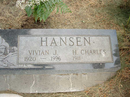 HANSEN, VIVIAN J - Harrison County, Iowa | VIVIAN J HANSEN