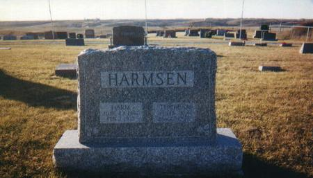 HARMSEN, HARM - Harrison County, Iowa | HARM HARMSEN