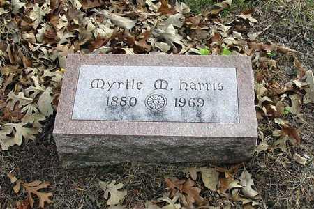 HARRIS, MYRTLE M. - Harrison County, Iowa | MYRTLE M. HARRIS
