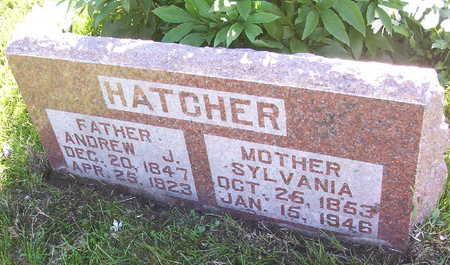 HATCHER, ANDREW JACKSON - Harrison County, Iowa | ANDREW JACKSON HATCHER