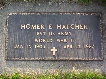 HATCHER, HOMER EDWARD - Harrison County, Iowa | HOMER EDWARD HATCHER