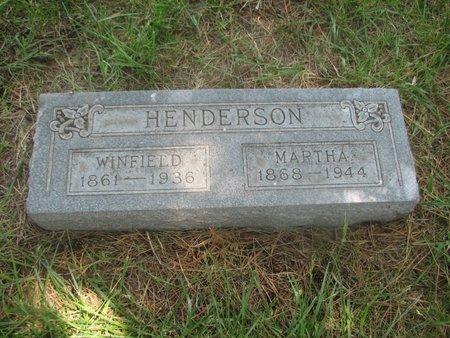 HENDERSON, WINFIELD - Harrison County, Iowa | WINFIELD HENDERSON