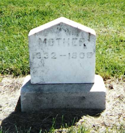 MCBROOM HICKS, MARGARET - Harrison County, Iowa | MARGARET MCBROOM HICKS