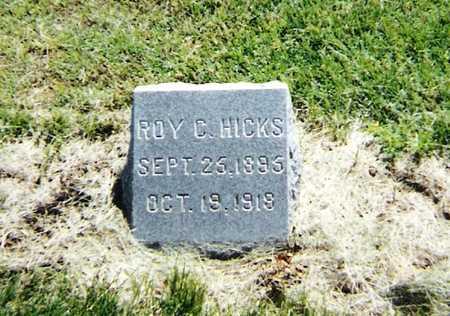 HICKS, ROY - Harrison County, Iowa | ROY HICKS