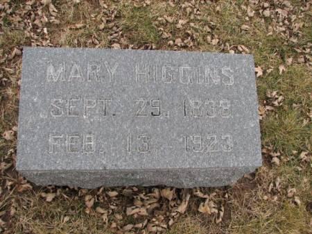 HIGGINS, MARY - Harrison County, Iowa | MARY HIGGINS