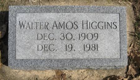 HIGGINS, WALTER AMOS - Harrison County, Iowa | WALTER AMOS HIGGINS