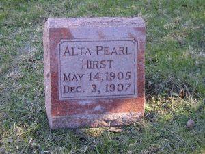 HIRST, ALTA PEARL - Harrison County, Iowa | ALTA PEARL HIRST