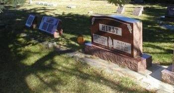HIRST, FAMILY PLOT - Harrison County, Iowa | FAMILY PLOT HIRST