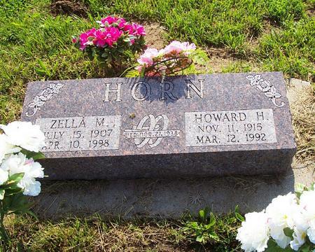 HORN, ZELLA - Harrison County, Iowa | ZELLA HORN