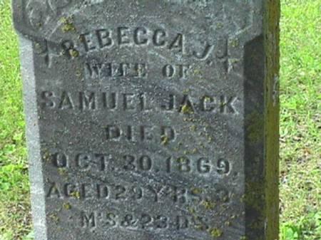 VORE JACK, REBECCA J - Harrison County, Iowa   REBECCA J VORE JACK