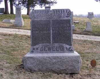 JEWELL, ALMERON S. - Harrison County, Iowa   ALMERON S. JEWELL